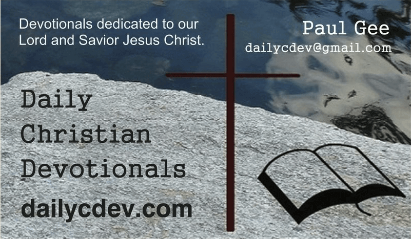 Daily Christian Devotional Cards